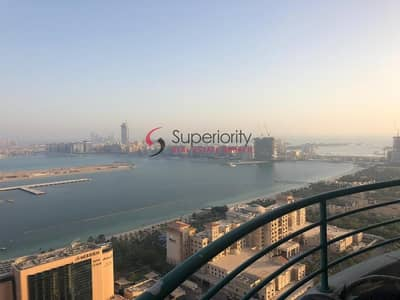 3 Bedroom Flat for Sale in Dubai Marina, Dubai - For Sale 3 Bed & 4 Bath Room With Full Sea View in Marina Crown Tower