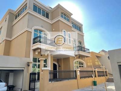 فیلا 6 غرف نوم للايجار في مدينة خليفة أ، أبوظبي - 6 MASTERS BEDROOM VILLA FOR RENT IN KHALIFA CITY A