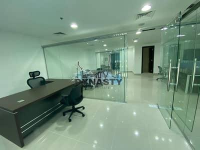 مکتب  للايجار في الخليج التجاري، دبي - Fully Furnished | 3 Partitions | VIP Parking