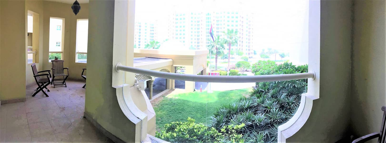 Luxury apartment with a maids room for Rent unfurnished