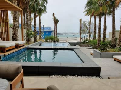 FULLY FURNISHED 3 BEDROOM+MAID VILLA IN PALM JUMEIRAH WITH PRIVATE POOL AND BEACH ACCESS