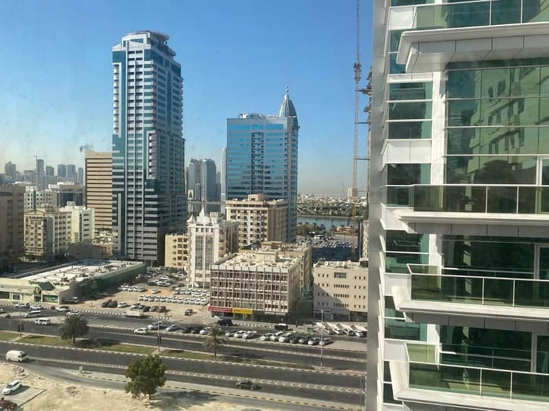 1 BHK For Rent in al Kasmiah area with month & parking free
