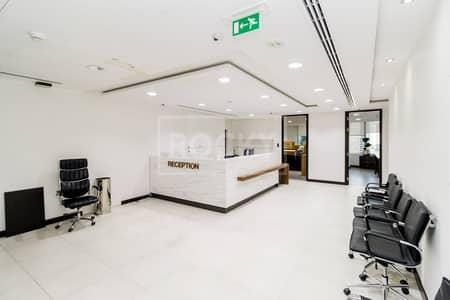 مکتب  للايجار في أبراج بحيرات الجميرا، دبي - Ready to Move   Designer Fitting-Furnishing   Grade A Tower