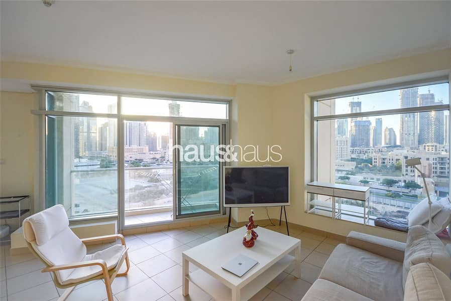2 2 bed | 2 Balcony | Full Burj Khalifa View