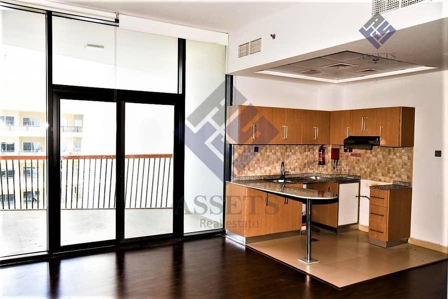 2 Open Layout Studio | Modern Living | Balcony