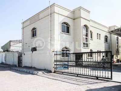 Office for Rent in Mussafah, Abu Dhabi - COMMERCIAL BUILDING COMPLEX WITH WAREHOUSE AREA FOR RENT IN  MUSSAFFAH INDUSTRIAL AREA! - IDEAL FOR  CORPORATE OFFICE!