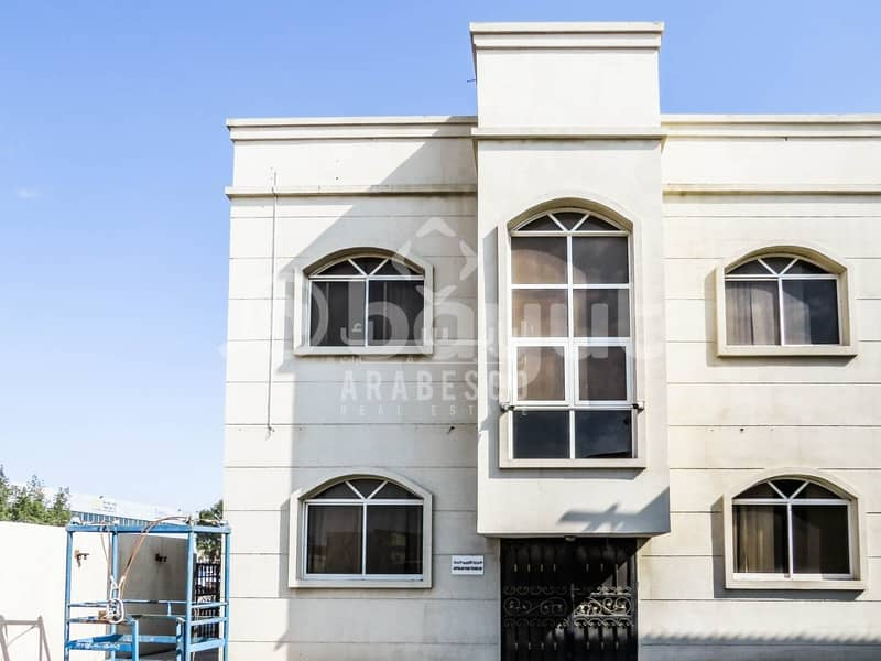 4 COMMERCIAL BUILDING COMPLEX WITH WAREHOUSE AREA FOR RENT IN  MUSSAFFAH INDUSTRIAL AREA! - IDEAL FOR  CORPORATE OFFICE!