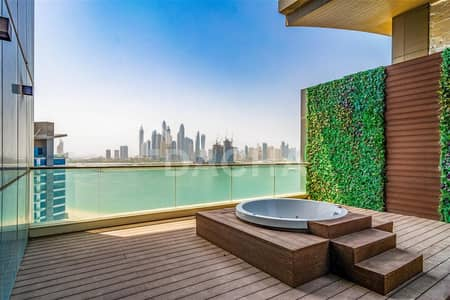 4 Bedroom Penthouse for Sale in Palm Jumeirah, Dubai - Penthouse // Ultimate Luxury Unique Design
