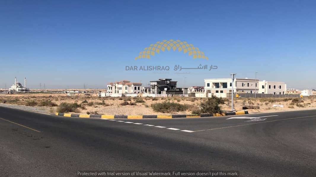 أراضي سكنية بمواقع مميزة للبيع في واحة الطي - خلف مسجد الشارقة الجديد