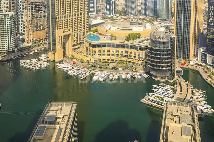 Nice 2BR //  Furnished // Marina view