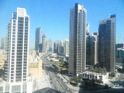 مکتب  للايجار في الخليج التجاري، دبي - Fitted & Glass Partitioned|Vacant|West burry
