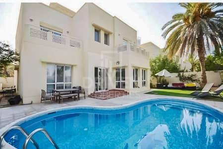 فیلا 6 غرف نوم للبيع في السهول، دبي - Exclusive and Single Row w/ Private Pool
