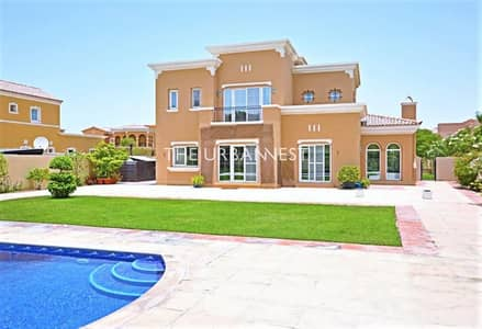 4 Bedroom Villa for Rent in Arabian Ranches, Dubai - 4 Bedroom Type 16   with Pool   Large Plot