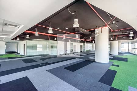 Floor for Rent in Dubai Media City, Dubai - Full Floor | Freezone | Fitted Office