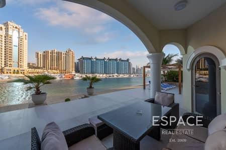فیلا 4 غرف نوم للبيع في نخلة جميرا، دبي - Upgraded | 4 Bed pus maid| Skyline  Views