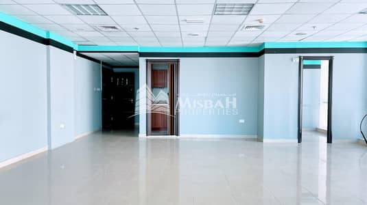Office for Rent in Al Qusais, Dubai - 1095 sq.ft to 1148 sq.ft.  Fully Fitted Glass partitioned Office near Stadium Metro