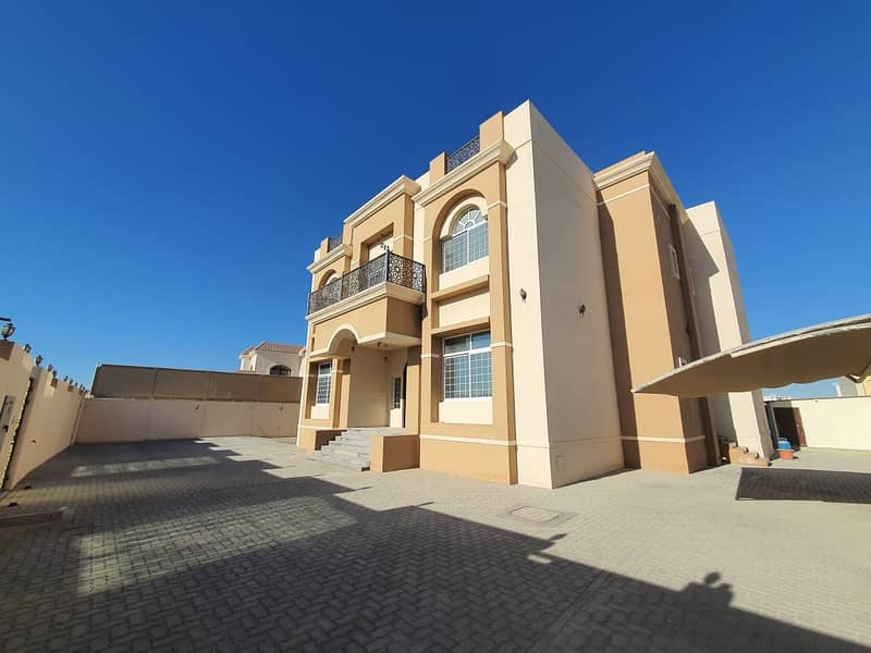 **FOR RENT**HIGH QUALITY FULLY INDEPENDENT LARGE- 7 B/R- IN AL WARQAA. .