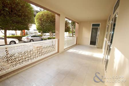2 Bedroom Apartment for Rent in Al Furjan, Dubai - 2 Bed Apartment | Ground Floor | Available
