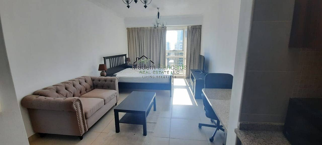 2 One Month Free Fully Furnished Studio Gold Crest Executive Tower Next to Metro