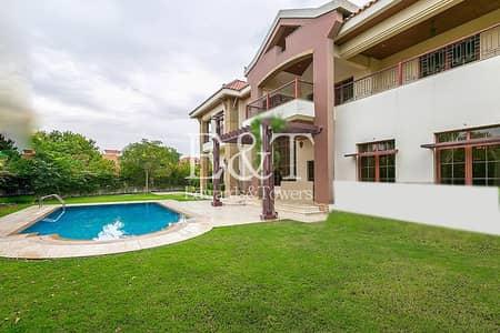 فیلا 5 غرف نوم للبيع في جزر جميرا، دبي - Massive Plot | Lake | City Views | 5 Bed Mansion