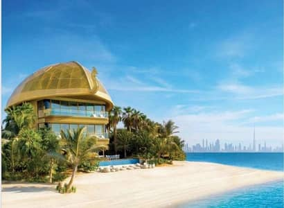 فیلا 3 غرف نوم للبيع في جزر العالم، دبي - Own Luxurious Beach Villa | Ocean View |  Private Beach Plot