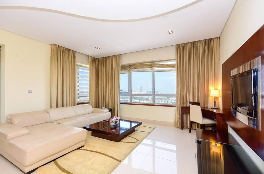 Amazing Two Bedrooms- Hotel Apartment - Fully Furnished