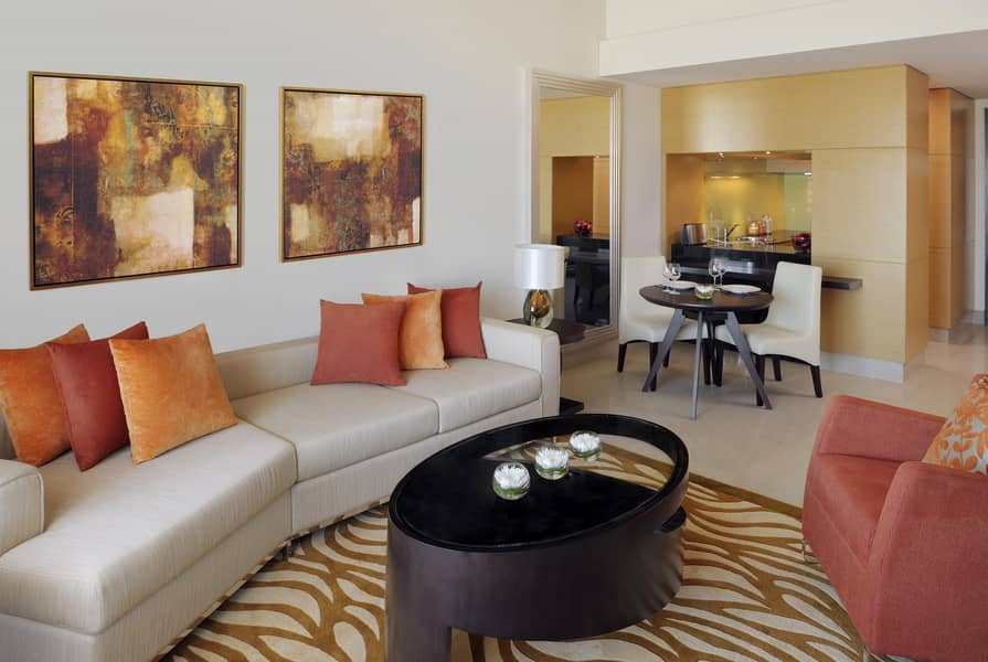 Lavish Two Bedroom - Hotel Apartment - Fully Furnished