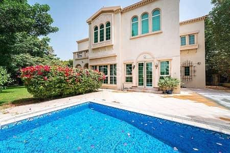 4 Bedroom Villa for Rent in Jumeirah Islands, Dubai - Upgraded 4BR Villa w/ Pool in Entertainment Foyer