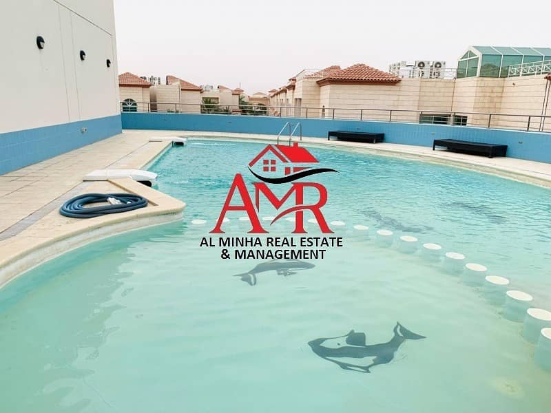 2 Spacious 2 Br with Balcony | Pool & Gym