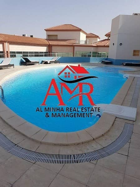 2 Swimming Pool & Gym | First  Floor  Good Deal