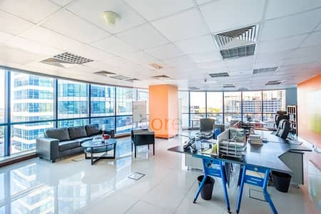 Office for Rent in Jumeirah Lake Towers (JLT), Dubai - Fully Fitted and Furnished Office | Parking