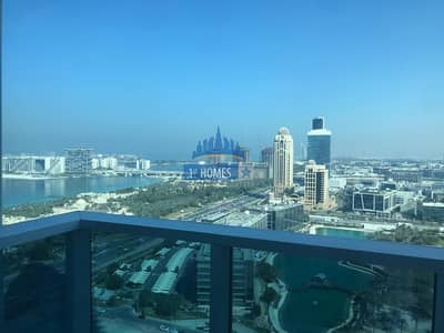 Palm and Sea View / Bright and Large 2BR /  Vacant