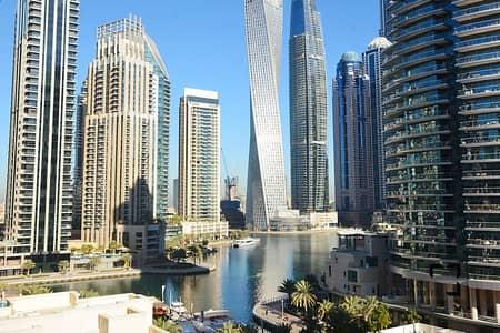 1 Bedroom Apartment for Rent in Dubai Marina, Dubai - Low Floor   Chiller Free   Full Marina View