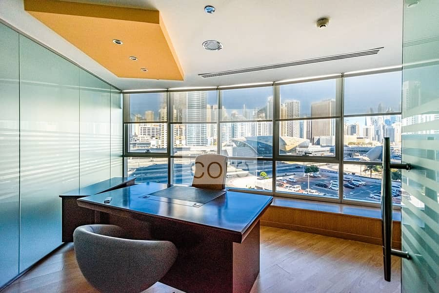 Fitted and Furnished Office | Low Floor | JLT