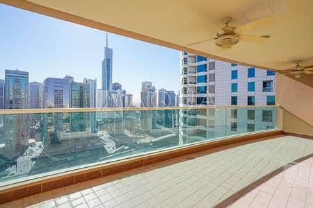 فلیٹ 4 غرف نوم للايجار في دبي مارينا، دبي - Marina View | Maid's Room | Unfurnished