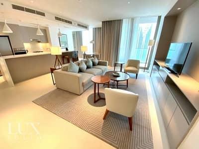 فلیٹ 2 غرفة نوم للايجار في وسط مدينة دبي، دبي - Stunning Apartment   Study   Mid Floor   Burj View