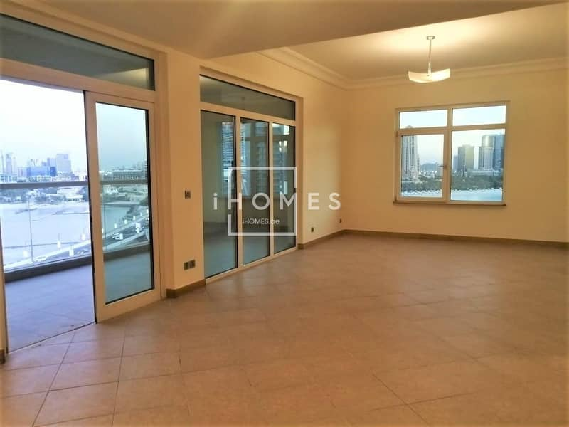 2 3BR+Maids Room Spacious Layout | Full sea View