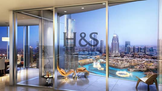 4 Bedroom Flat for Sale in Downtown Dubai, Dubai - Your Dream Home I Luxury 4 Beds I Fountain View I Downtown