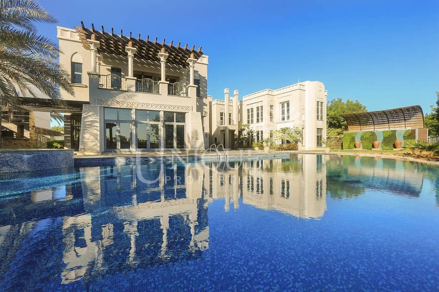 2 Magnificent 7BR Mansion in Emirates Hills | Sector
