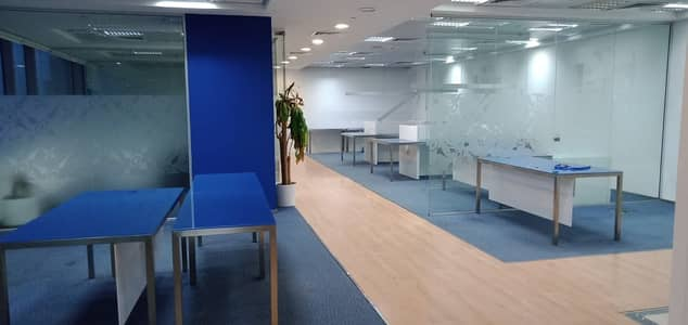 Office for Rent in Deira, Dubai - 8000 Sq. ft Ready fully fitted office for rent in Port Saeed, Deira, Dubai