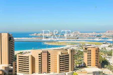 1 Bedroom Apartment for Rent in Dubai Marina, Dubai - Exclusive: High Floor|Panoramic View|Unfurnished