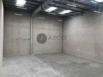 Warehouse for Rent in Dubai Investment Park (DIP), Dubai - COMMERCIAL WAREHOUSE |BUILT IN OFFICE |28 KW POWER