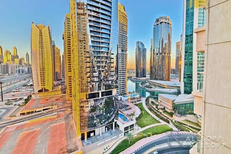 1 Bedroom Apartment for Rent in Jumeirah Lake Towers (JLT), Dubai - Marina and Lake View | Furnished | 1 Bed