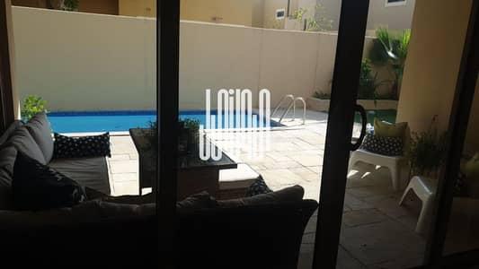4 Bedroom Villa for Sale in Al Raha Gardens, Abu Dhabi - Private Pool  Big Layout  Huge Balcony  Parking