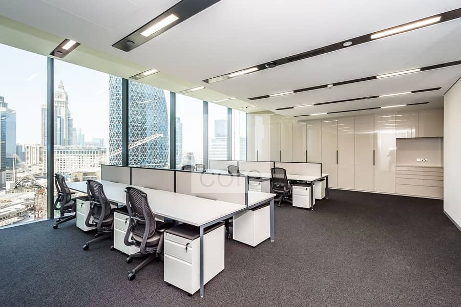 Fully Fitted Office   Mid Floor   Parking