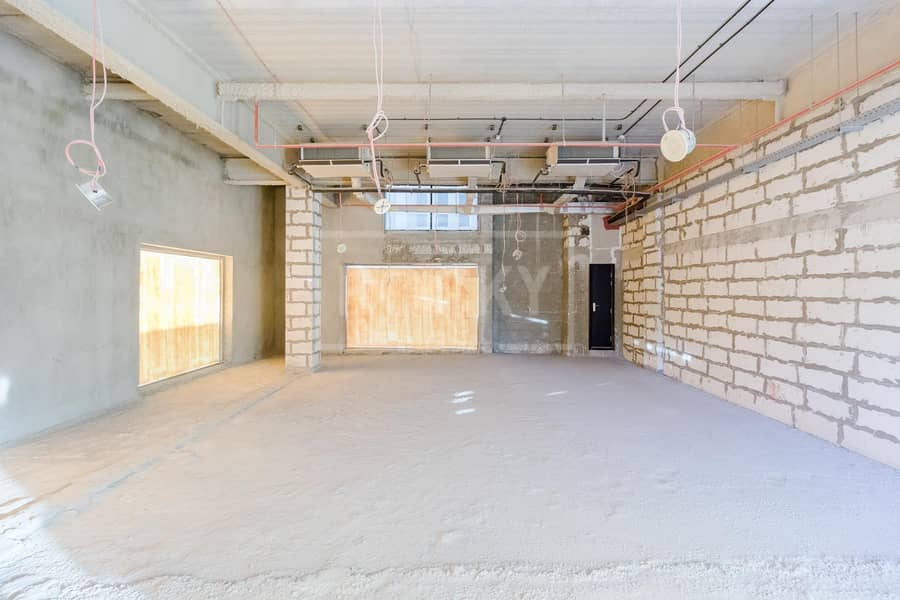 Shell And Core | Retail Space | AED 100 psf