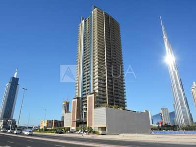 استوديو  للايجار في وسط مدينة دبي، دبي - Vacant | Studio With Balcony | Chiller Free