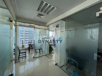 Office for Rent in Business Bay, Dubai - High Floor|Fully Fitted |6 Partations| 3 Parkings