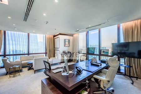 Office for Rent in Downtown Dubai, Dubai - Fitted and Partitioned | Service charge incl