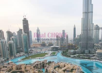 شقة فندقية 1 غرفة نوم للايجار في وسط مدينة دبي، دبي - Stunning Burj Khalifa View|All Bills Inclusive